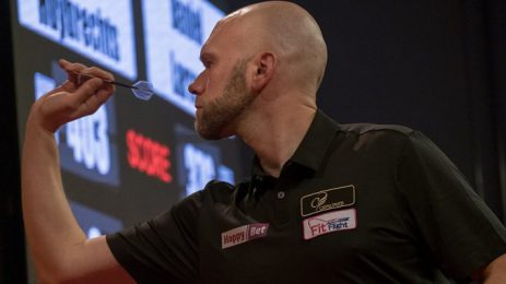 Daniel Larsson is ready for the International Darts Open