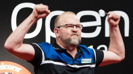 UK Open starts today with all four PDCNB Tour Card holders