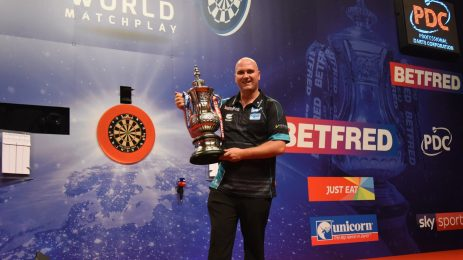Betfred World Matchplay Glory For Cross
