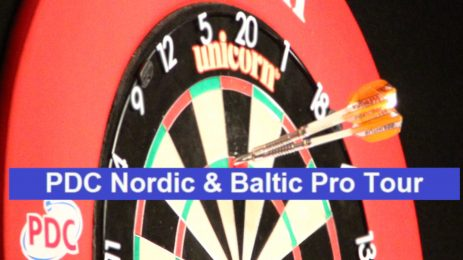 PDC Nordic & Baltic Pro Tour in Riga is cancelled