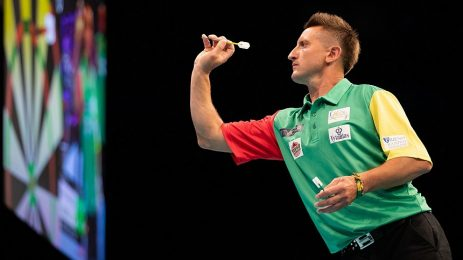 The Baltic army takes on the European Darts Grand Prix