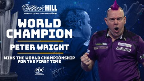 Peter Wright is the new world champion