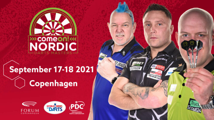 Nordic Darts Masters to be held in September